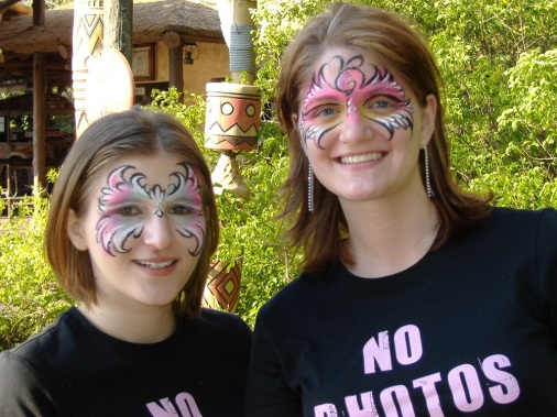 2006_0306 me and amy after facepainting