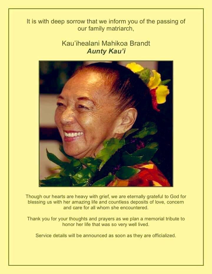 Aunty Kaui